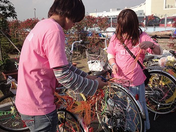 11/19・20に渋谷区一帯で行われる渋谷芸術祭で、バンタンの学生と卒業生がBiketope2011に参加します。