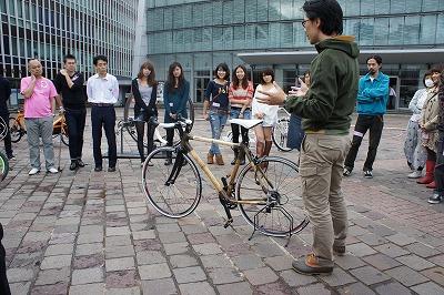 11月19日・20日に渋谷区一帯で行われた渋谷芸術祭で、バンタンの学生と卒業生がBiketope2011に参加しました。